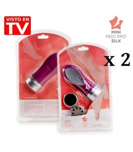 Pack 2 Quitacallos Mini Pedi Pro Silk