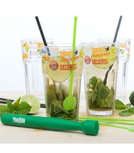 Set para Mojitos Bravissima Kitchen (13 piezas)