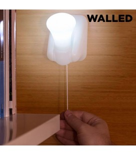 Luz LED Portátil con Cordón Walled LB15 (pack de 3)
