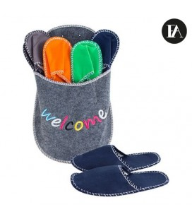 Zapatilla Gigante Welcome con Pantuflas Fashinalizer