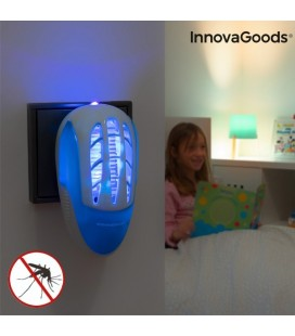 Enchufe Antimosquitos con Luz Ultravioleta LED