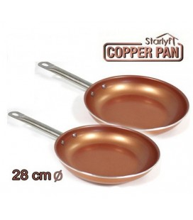 Sarten Copper Kitchen 28cm Pack 2 unidades
