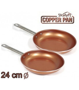 Sarten Copper Kitchen 24cm Pack 2 unidades