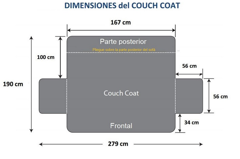 Funda Sofa Couch Coat